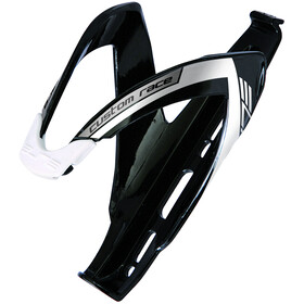 Elite Custom Race Bidonhouder, black/glossy white
